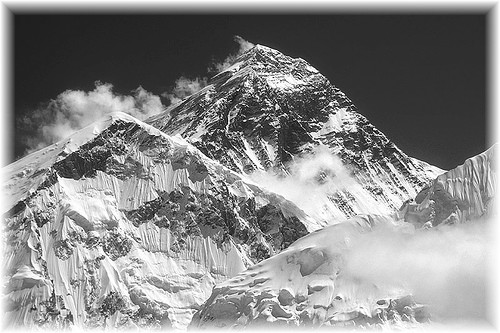 I want to summit Mt. Everest before I die. So if I summit it and then die on the mountain, that's cool.