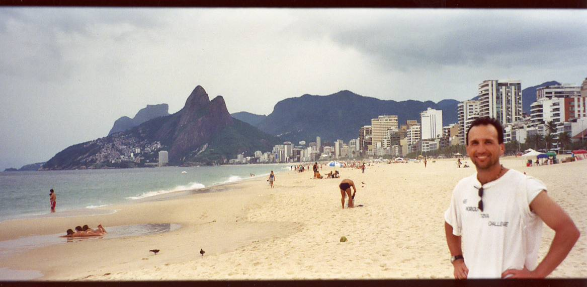 Jan 2004: I'm a boy in Ipanema.
