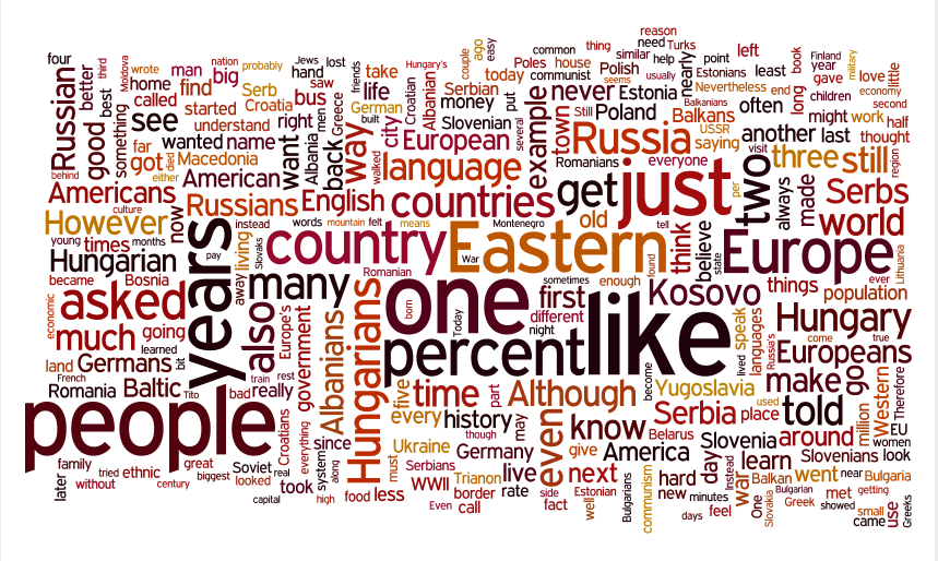 The Hidden Europe wordle 2