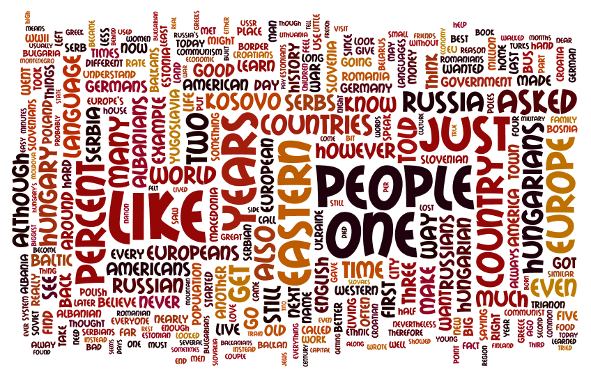 The Hidden Europe wordle 3