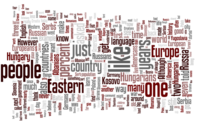 The Hidden Europe wordle 4