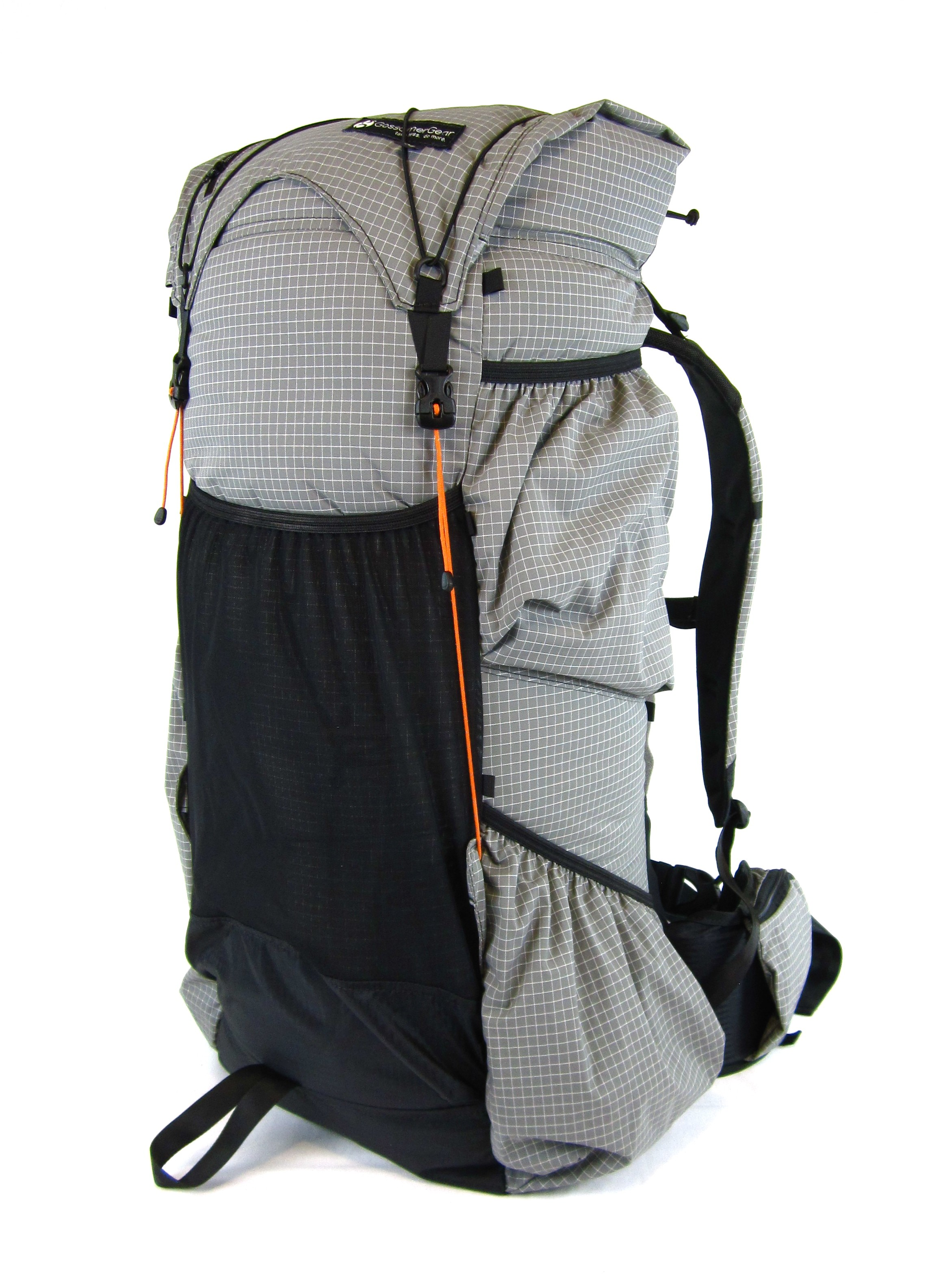 Rear of Gossamer Gear Mariposa Backpack