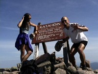 To hike your own hike on the Appalachian Trail may mean starting on Mt. Katahdin instead of ending there