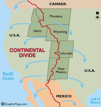 Epilogue Of CDT Continental Divide Trail Travels - Cdt trail map