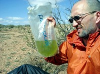 Water in New Mexico is either perfect (from a well) or like this.  Yuck!