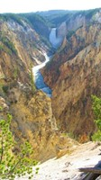 The Grand Canyon of Yellowstone. This is not part of the CDT, but a worthwhile detour. If you want to know the exact route I took, contact me.