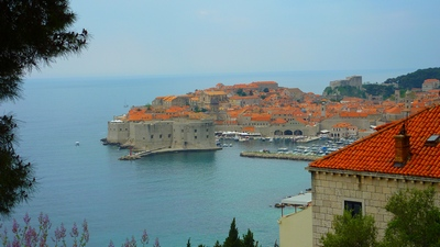 Dubrovnik, view of the whole Old Town