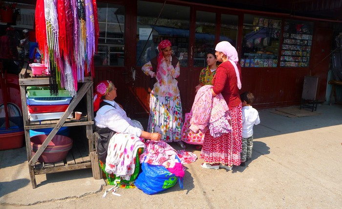 Gypsies in Calafat, Romania