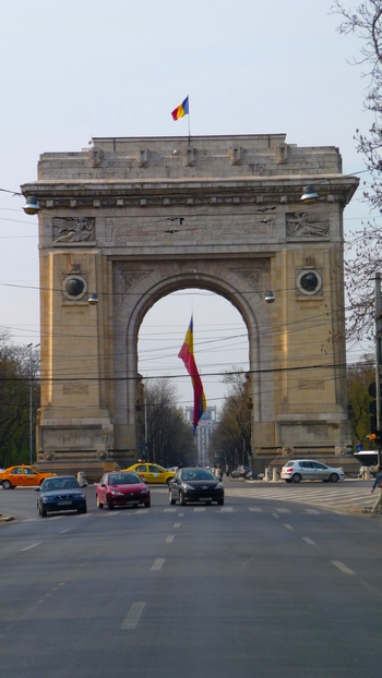 Bucharest, Romania Triumphal Arch - Bucharest, the capital of Romania, feel like a baby Paris. It's not a coincidence. Paris inspired the Romanians.