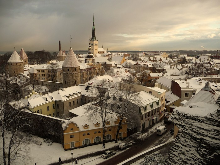Tallinn Old Town in Estonia - photo by Francis Tapon