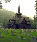 An ancient wooden church in Lom, Norway. With that, we returned to relax a few days in Oslo. It was an amazing trip!