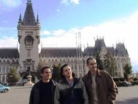 Iasi was a pretty university town. The two guys on the right were both called Andrei.