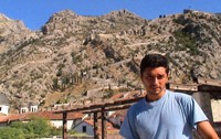Marcos with the Kotor's mountain behind him.