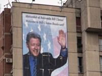 The main street in the capital of Kosovo is called Bill Clinton Boulevard. Do these Muslims love us or what?