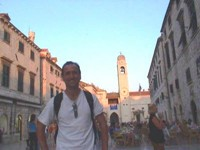This was the main drag in Dubrovnik.