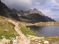I arrived in the High Tatras on August 8 and stayed three nights. It had some of the most incredible trails I have ever seen.
