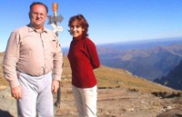 Horia and Corina were both plastic surgeons staying at the cabin on the top of Mount Omul.