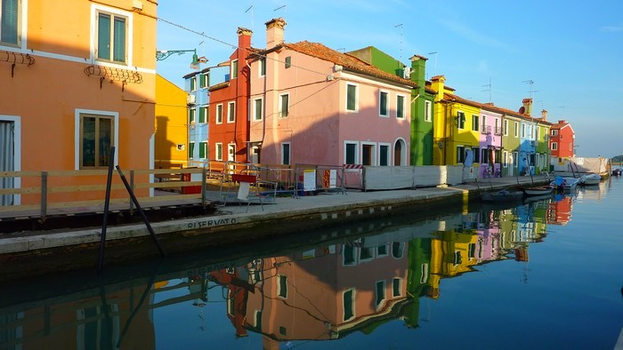 Early morning on Burano
