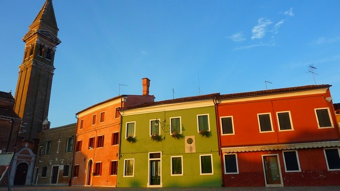 Square on Burano