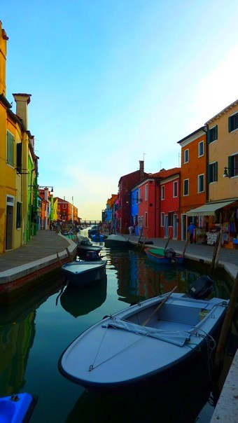Morning light on Burano