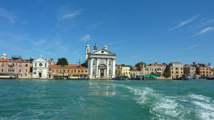 A view on Venice from Guidecca