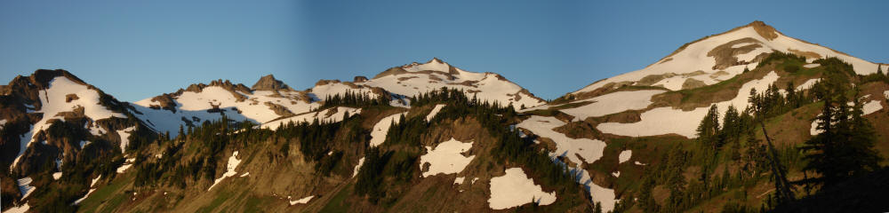 July 17, 2006: Goat Rocks in Washington State on the PCT.