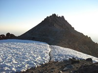 Final meters to the summit of Lassen Peak