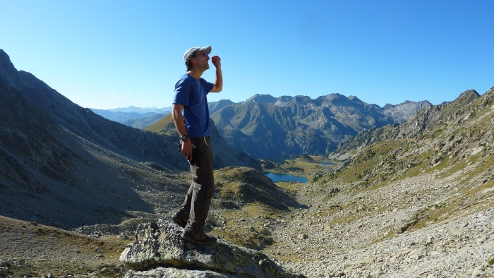 Francis Tapon in Pyrenees