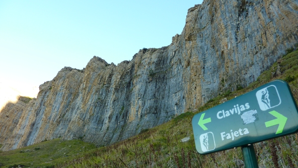 Cliff in Pyrenees