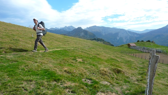 Backpacking in Pyrenees