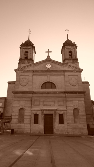 Church in Logrono, Spain