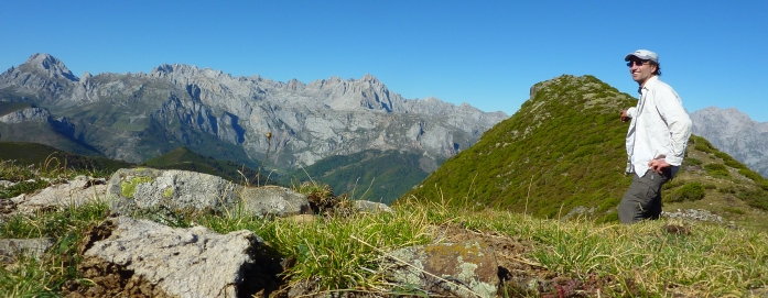 Picos de Europa in sight