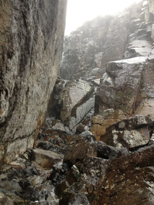 Mt. Colden Trap Dike view