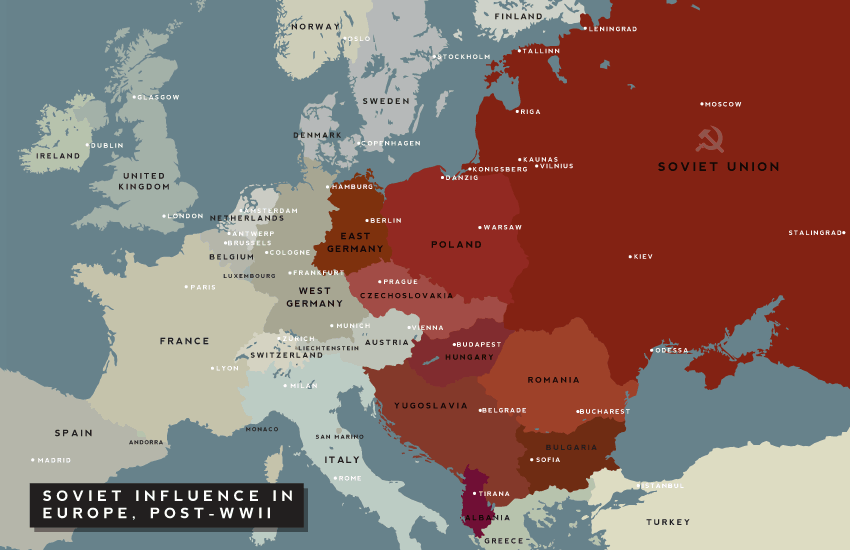 Where is eastern europe and what countries are in it the hidden eastern europe in 1945 gumiabroncs Images